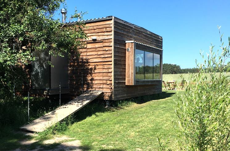 Gartenhaus Salix: Ein Entwurf des Architekten Peter Grundmann