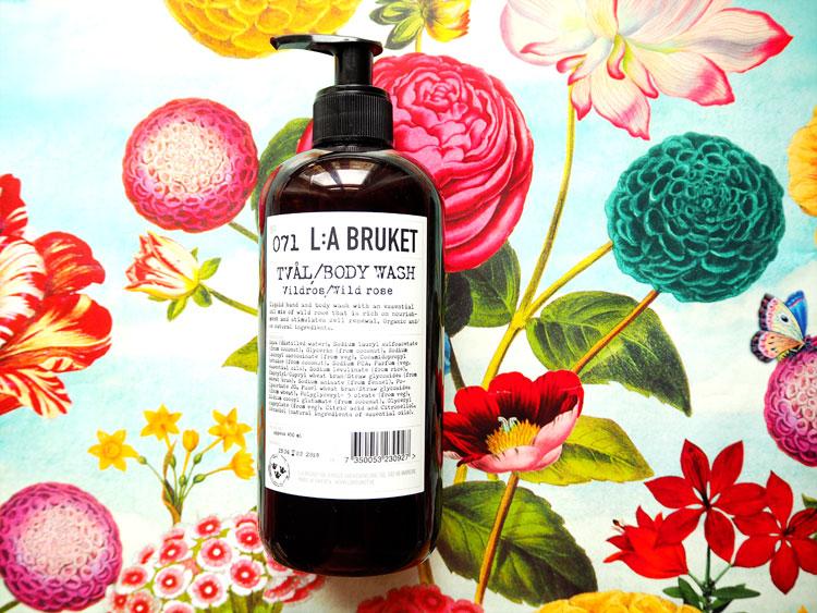 Beauty mit Rose: L:A Bruket Wildrose ohhhsorelaxed.com