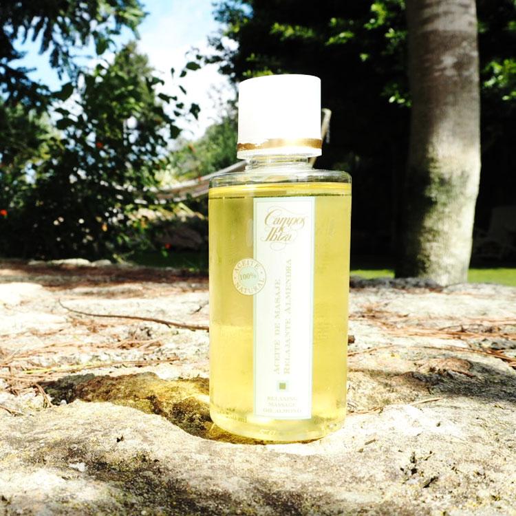 Julias Cas Gasi Souvenir. Campos de Ibiza Massageöl. Ohhhsorelaxed.com