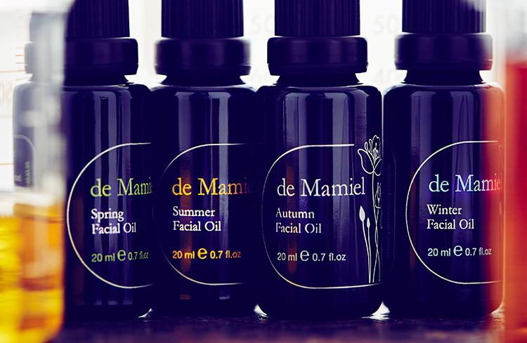 Annee de Mamiel. Seasonal Facial Oils. Ohhhsorelaxed.com