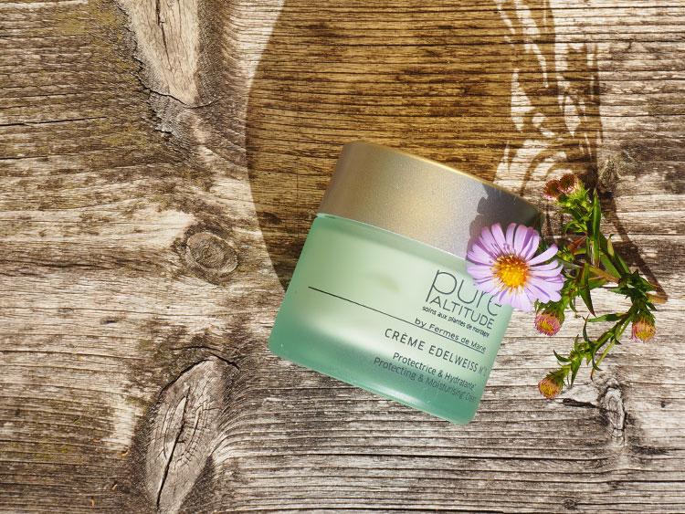 Kosmetik aus den Alpen: Pure Altitude Crème Edelweiss No 1 auf ohhhsorelaxed.com