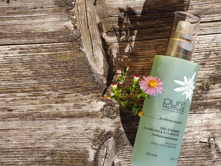 Kosmetik aus den Alpen: Pure Altitude Eau D