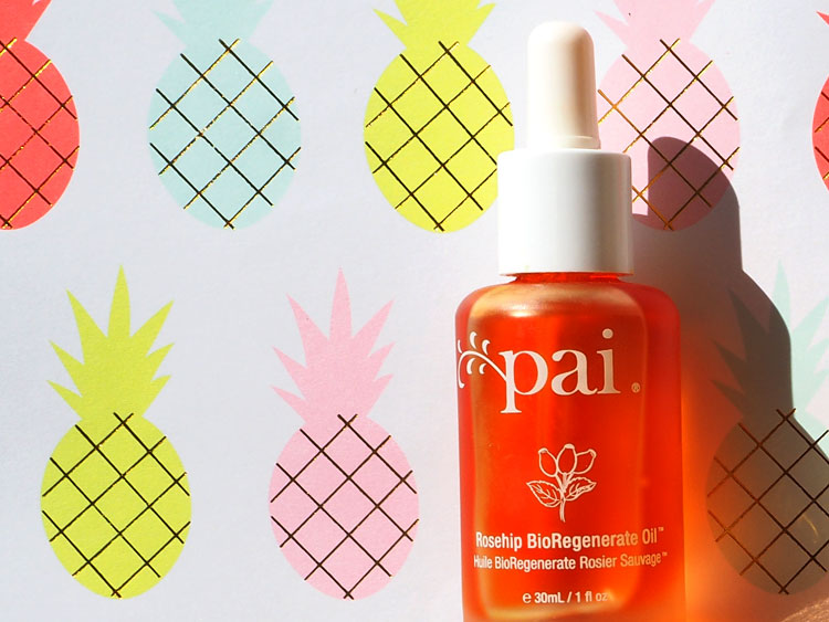 Natürliche Gesichtsöle. Pai Rosehip Bio-Regenerate Oil. Compiled by Verena Seibold of ohhhsorelaxed.com