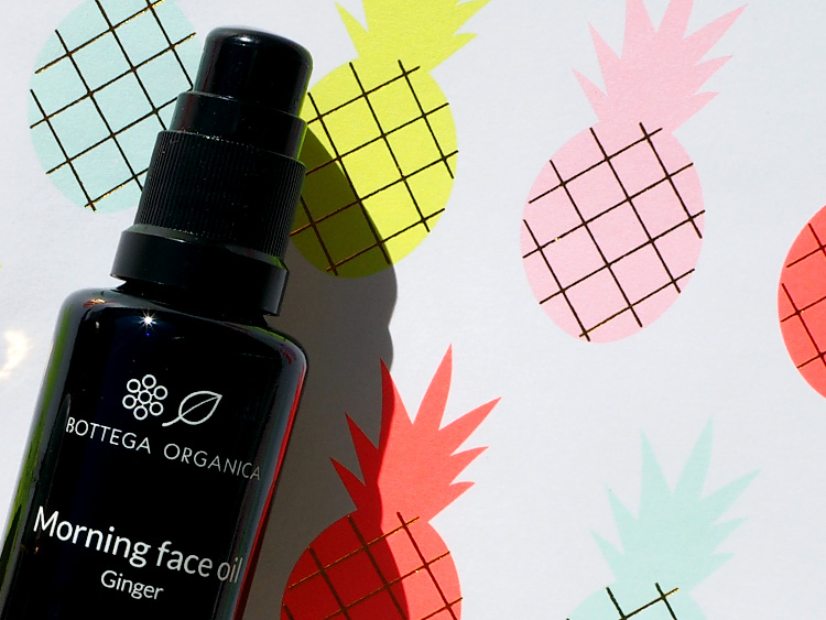Natürliche Gesichtsöle. Bottega Organica Energize Face Oil Ginger. Compiled by Verena Seibold of ohhhsorelaxed.com