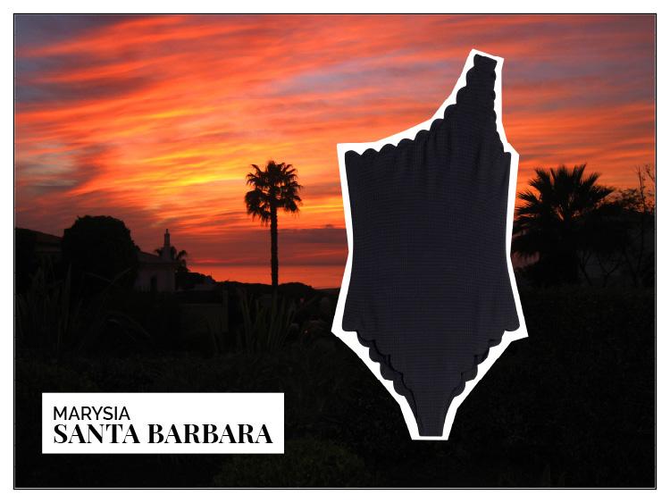 Ohhh... so relaxed Bademoden Special. Marysia Santa Barbara