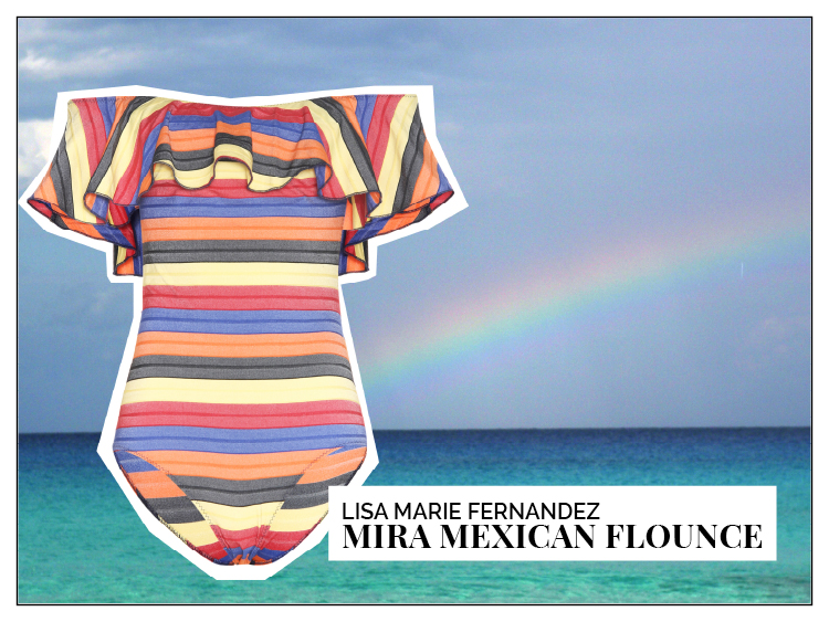 Ohhh... so relaxed Bademoden Special . Lisa Marie Fernandez Mira Mexican Flounce
