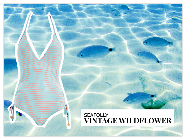 Ohhh... so relaxed Bademoden Special. Seafolly Vintage Wildflower