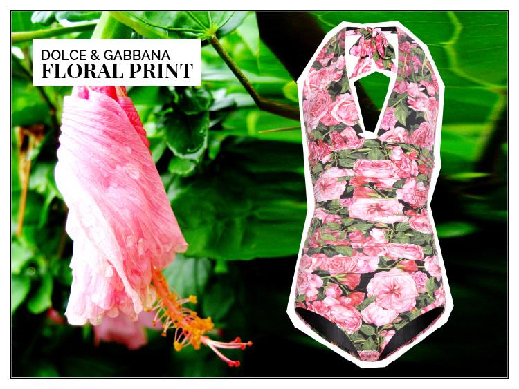 Ohhh... so relaxed Bademoden Special. Dolce & Gabbana Badeanzug über mytheresa.com