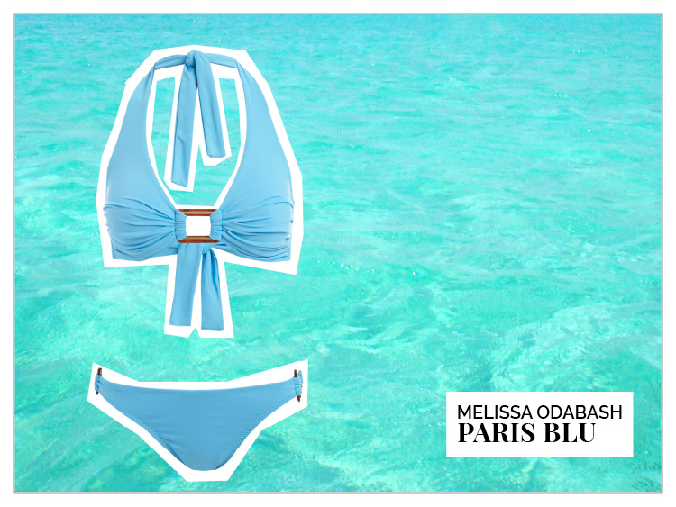 Ohhh... so relaxed Bademoden Special. Melissa Odabash Paris Bikini Blu