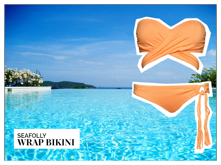 Ohhh... so relaxed Bademoden Special. Seafolly Wrap Bikini