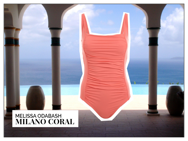 Ohhh... so relaxed Bademoden Special. Melissa Odabash Milano Coral