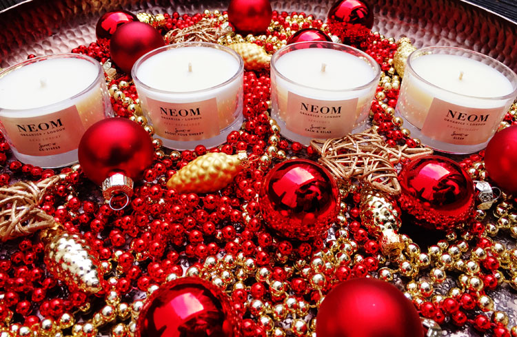 Aromatherapie Adventskranz Neom Organics Candles created by ohhhsorelaxed.com