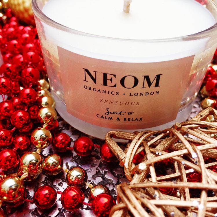 Aromatherapie Adventskranz mit Duftkerzen von Neom Organics Candles created by ohhhsorelaxed.com