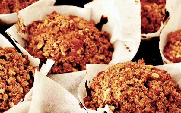 By @Eat.The.Fabulous Apfel Pekan Streusel Muffins Rezept auf ohhhsorelaxed.com