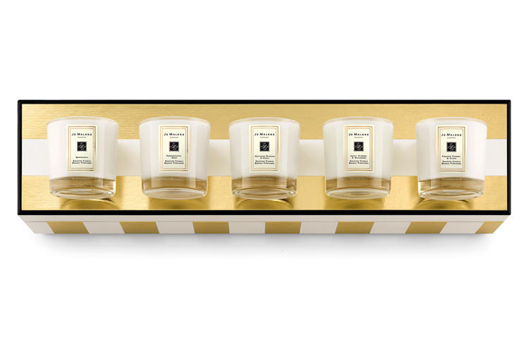 Aromatherapie Adventskranz Creation with Jo Malone Candles Christmas Miniature Candle Collection by ohhhsorelaxed.com
