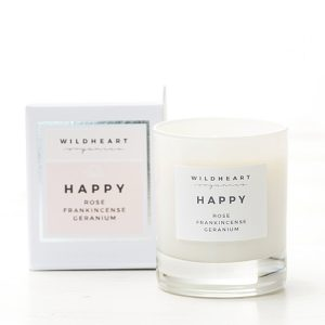 Aromatherapie Adventskranz. Wildheart Organics Aromatherapy Candle Happy . ohhhsorelaxed.com