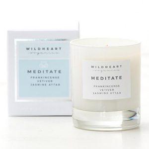 Aromatherapie Adventskranz. Wildheart Organics Aromatherapy Candle Meditate . ohhhsorelaxed.com